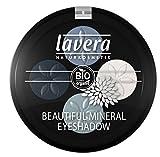 lavera Sombra ojos mineral cuatro -Blue Platinum 07- vegano - cosméticos naturales 100% certificados - maquillaje - 3 gr