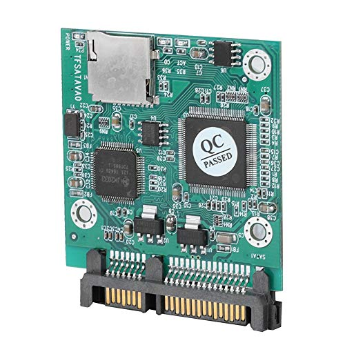 TF-kaart naar SATA adaptermodule, 32 GB SD-kaartcapaciteit, 22 MB/sec, SD SATA, SD naar SATA, MMC SATA, Secure Digital TF Card naar SATA Adapter Converter