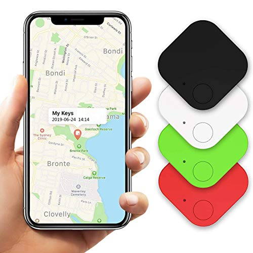 Key Finder Item Tracker, Bluetooth Smart Tracker, Key Finder Phone Finder Item Finder Anything Finder Locator Smart Tag (4 Pack)