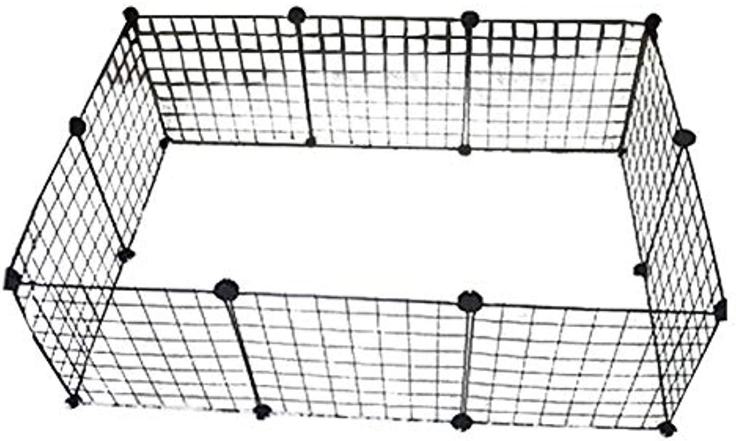 Hutch Kennel Crate Pen Exercise DIY Cage Fence Small