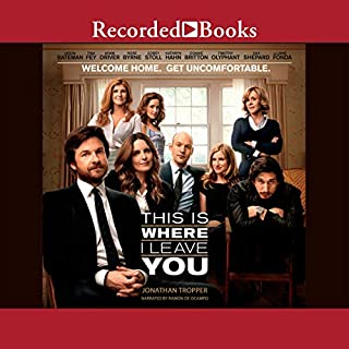This Is Where I Leave You audiobook cover art