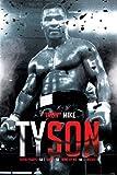 Pyramid America Iron Mike Tyson Boxing Record Sports Cool Wall Decor Art Print Poster 24x36
