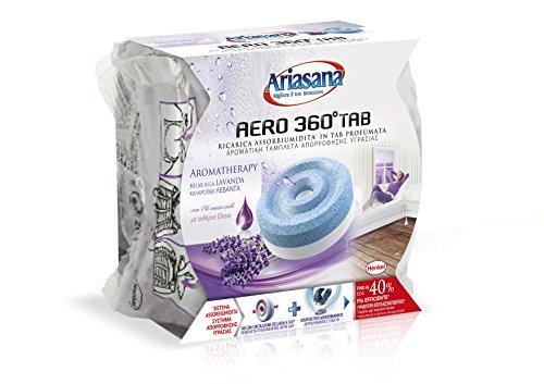 Ariasana 1680958 Ricarica Tab assobiumidità per Aero 360, profumazione Lavanda, 450 g