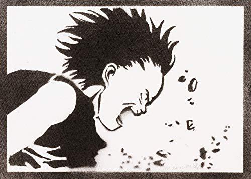 Poster Akira Tetsuo Shima Grafiti Hecho a Mano - Handmade Street Art - Artwork