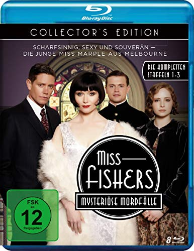 Miss Fishers mysteriöse Mordfälle - Collector's Edition - Die kompletten Staffeln 1-3 mit allen 34 Episoden [Alemania] [Blu-ray]