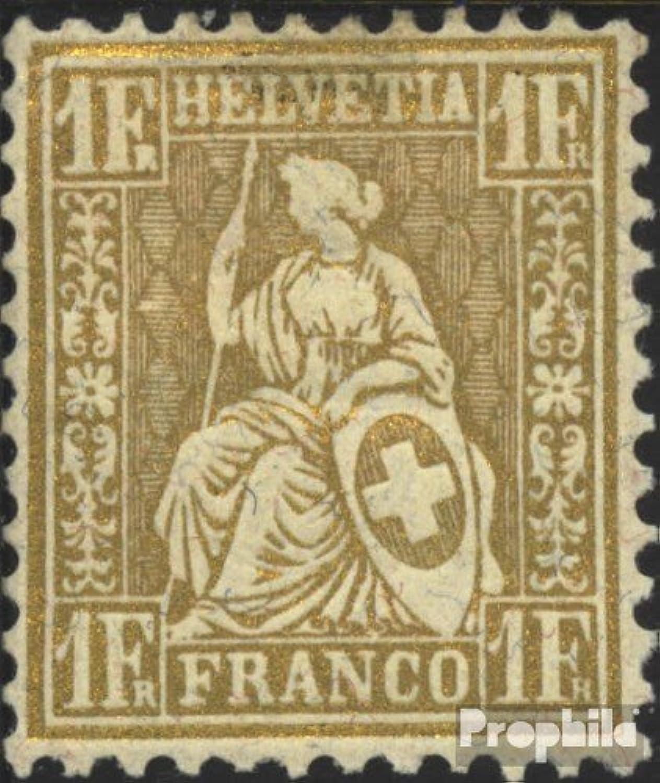 ofrecemos varias marcas famosas Prophila Collection Suiza 28a examinado examinado examinado 1862 sedentaria Helvetia (Sellos para los coleccionistas)  hasta un 65% de descuento