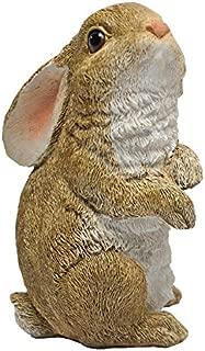 Design Toscano QM200801 The Bunny Den, Garden Standing Rabbit Statue, Full Color
