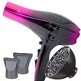 Secador de Pelo Profesional Ligero Potente Elegant Iónico 2000W Rosa (Pink) con Difusor - My Hair