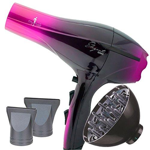 My Hair Secador Elegant Ionic Rosa (09002003)