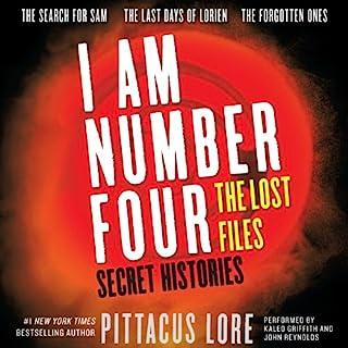 Secret Histories audiobook cover art