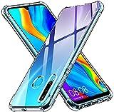 iVoler Cover per Huawei P30 Lite / P30 Lite New Edition/Honor 20S, Custodia Trasparente per Assorbimento degli Urti con Paraurti in TPU Morbido, Sottile Morbida in Silicone TPU Protettiva Case