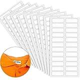 Etiquetas de Ropa de Niños sin Planchar Etiquetas de Tela Grabables con Pinza Etiquetas de Ropa Seguridad para Lavadora, Secadora (96 Piezas)
