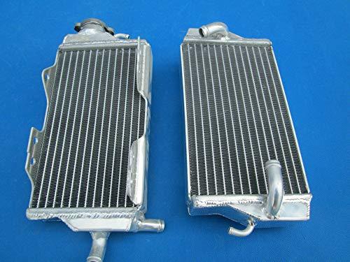 Radiador de aluminio para Hon-da CR125 CR125R 2000 2001 CR 125 00 01