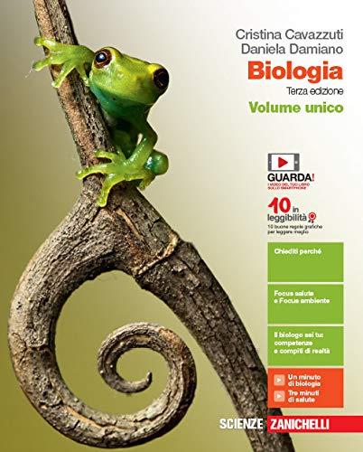 Biologia. Volume unico. Per le Scuole superiori. Con e-book. Con espansione online