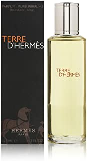 Terre D'Hermes by Hermes for Men 4.2 oz Pure Perfume Refill