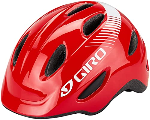 Giro Unisex Jugend Scamp Mips Fahrradhelm Youth, bright red, S (49-53cm)