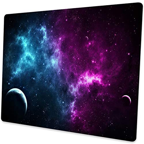 Shalysong Mouse pad Customized Mousepad Non-Slip Rubber Base Mouse Pads for Computers Laptop Office Desk Accessories Nebula Galaxy Mouse pad