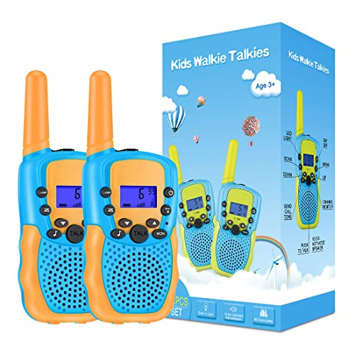 Kearui Toys for 3-12 Year Old Boys, Walkie Talkies for Kids 8 Channels 2...