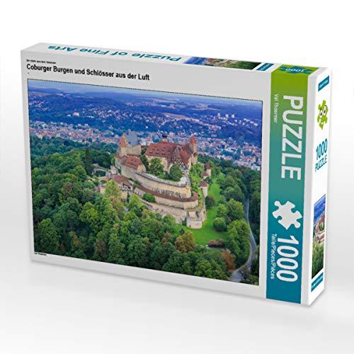 CALVENDO Puzzle Coburger Burgen und Schlösser aus der Luft 1000 Teile Lege-Größe 64 x 48 cm Foto-Puzzle Bild von Val Thoermer