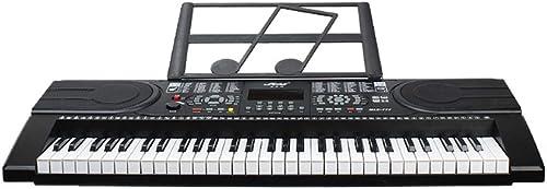 Esperando por ti LINGLING-Piano LINGLING-Piano LINGLING-Piano Teclado de Piano multifunción, Niños Adultos, imitación, Teclado de Piano, Teclado, negro (Color   negro)  estilo clásico