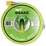Sewer Jetter - 50 FT JetSnake Drain Cleaner for Your Gas Pressure Washer...