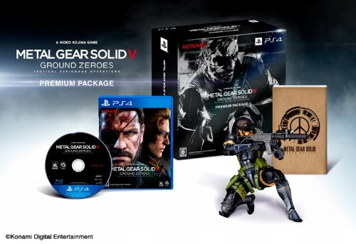 Metal Gear Solid V Ground Zeroes - Edition Limitée Amazon.co.jp PlayStation 4 [import Japonais]