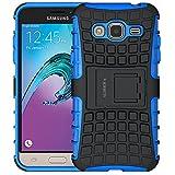 ALDHOFA Funda para Samsung Galaxy J3 2016, (serie TPU), funda protectora de silicona para Samsung J3 2016, color azul