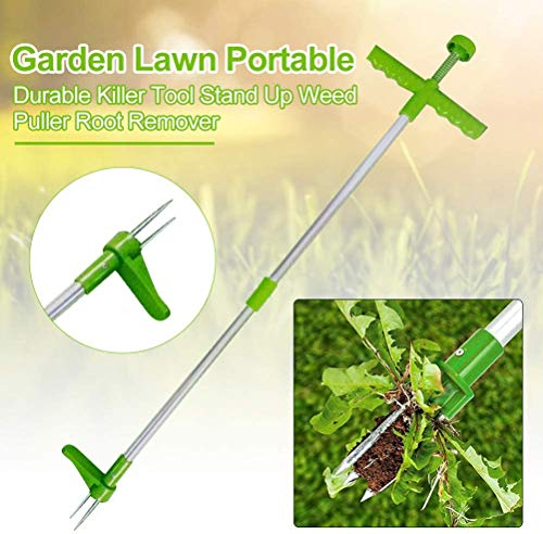 Review Of HHQueen Weed Remover Steel Claw Weeder Puller Root Remover Killer Grabber Garden Tool