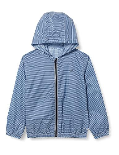 Petit Bateau 5986904 Raincoat, Surf/Marshmallow, 12 Ans Boys