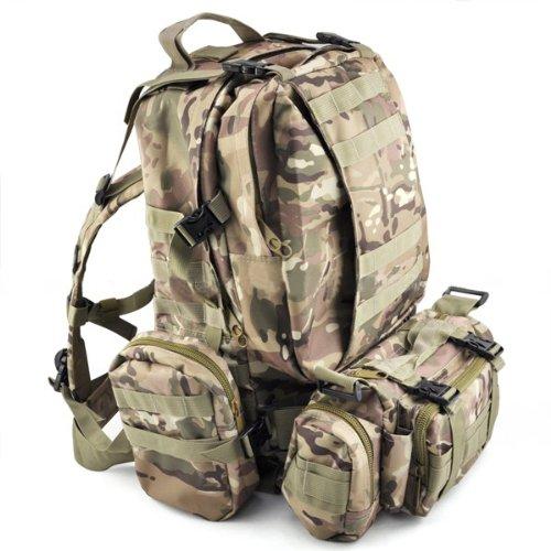 Mochila Militar Tactica para Senderismo Gleader 50L