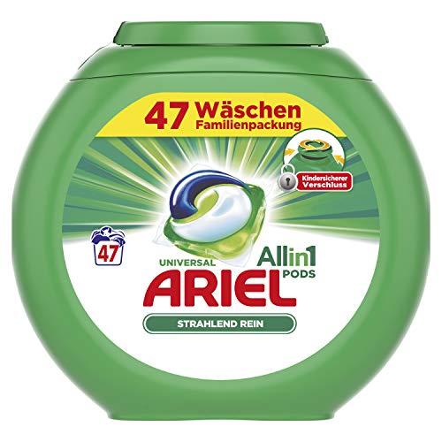 Ariel All-in-1 PODS Universal Strahlend Rein – 47Waschladungen