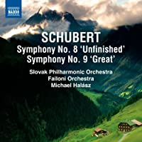Symphonies Nos 8 & 9 by FRANZ SCHUBERT. (2012-10-30)