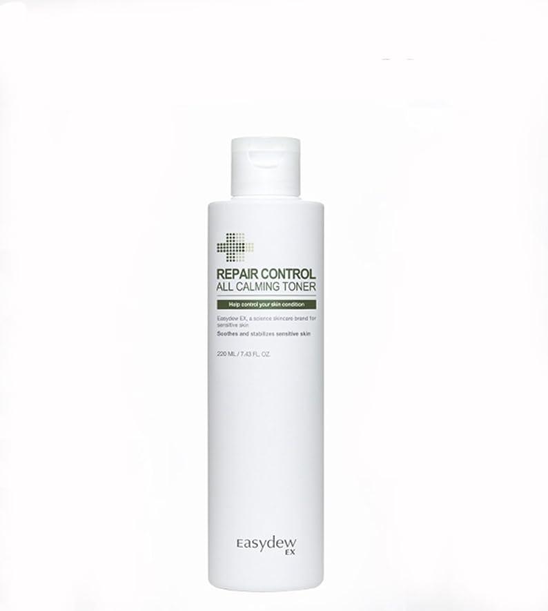 カウントアップアピール資金[EASYDEW ] EASY DEW EX オールカーミングエッセンシャルトナーEASY DEW EX- ALL CALMING ESSENTIAL TONER 韓国の有名皮膚科化粧品 210ml [海外直送品]