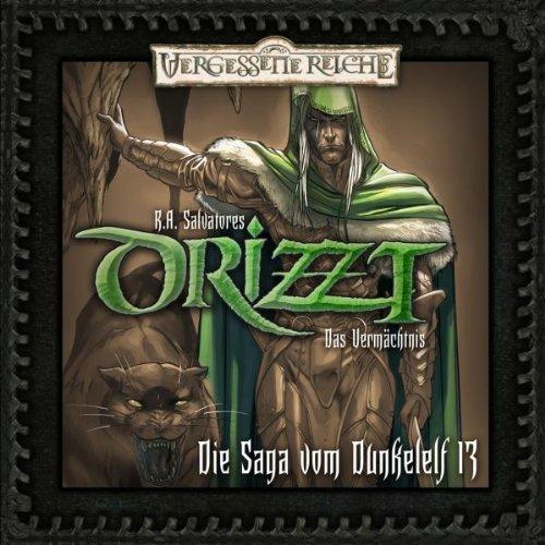 Das Vermächtnis (DRIZZT - Die Saga vom Dunkelelf 13) Titelbild