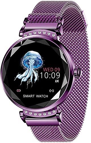 wyingj Reloj Inteligente Reloj Inteligente Monitor de Sueño Rastreador de Actividad Bluetooth Pulsera Inteligente Podómetro Impermeable Reloj Deportivo