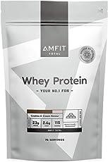 Marchio Amazon - Amfit Nutrition Proteine del Siero di Latte in Polvere 2.27kg - Crema e Cookies (precedentemente marchio PBN)