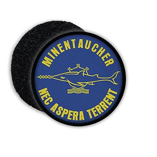 Copytec Patch Minentaucher Sägefisch Kompanie Abzeichen Marine Bundeswehr Aufnäher Eckernförde NEC Aspera Terrent Taucher#21811