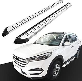 Fydun Baule posteriore universale per auto Coda da corsa Spoiler In lega leggera di alluminio per veicoli a due compartimenti Nero Ala di coda auto