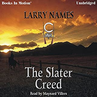 The Slater Creed audiobook cover art