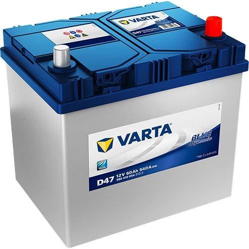 BATERÍA COCHE VARTA BLUE DYNAMIC 12V 60AH D47