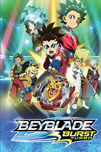 Beyblade Burst Turbo: (6X9 - 100 Page ) Blank Paper, Cute Notebook, Gift for Kids and Teens, Perfect for Writing, Creative Ideas, Dairy, to-do-list, ... Book for Kids, Great Gifts With Fun