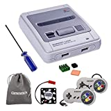 GeeekPi Retroflag SUPERPI Case NESPI Case JCase SFC Case with 2 USB Controllers, Raspberry Pi Radiator Fan for RetroPie Raspberry Pi 3/2, Model B and Raspberry Pi 3 B +