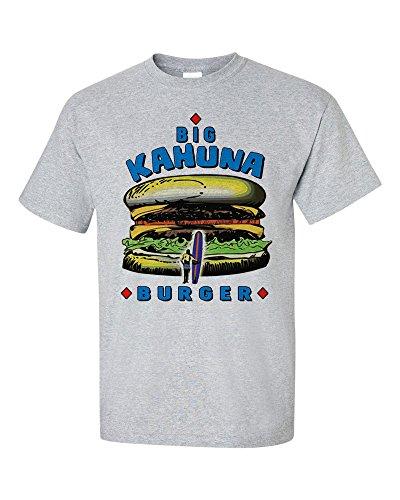 Not Just Nerds Herren Big Kahuna Burger T-Shirt XL, grau
