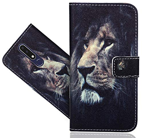 CaseExpert Nokia 3.1 Plus Custodia Cover, Flip Case Design Custodia Pelle Accessori Protective Portafoglio Wallet A Libro Cover per Nokia 3.1 Plus