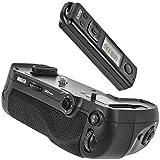 Meike Batteriegriff Akkugriff Battery Grip kompatibel mit Nikon D850 Ersatz für Nikon MB-D18 inkl. Fernauslöser mit 2.4 Ghz Funk Frequenz bis zu 100m Reichweite – MK-D850 Pro
