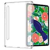 TOPACE Hülle für Samsung Galaxy Tab S7 Plus, Mattweiß