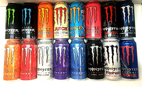 Top ballers blend monster energy drink for 2020