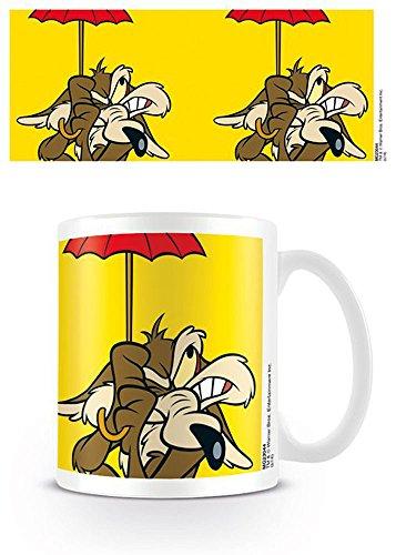 empireposter Looney Tunes - Wile E. Coyote - Keramik Tasse - Größe Ø8,5 H9,5cm
