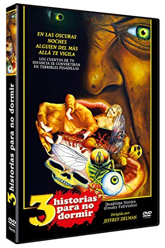 Tres Historias Para No Dormir DVD 1986 Deadtime Stories (Freaky Fairytales)