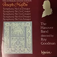 The Hyperion Haydn Edition: Symphonies 1-5